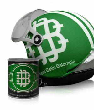 Funda para casco del Betis
